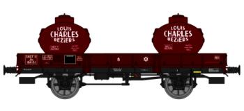 REE WB 128 - Wagon plat OCEM 29, Citernes L.CHARLES