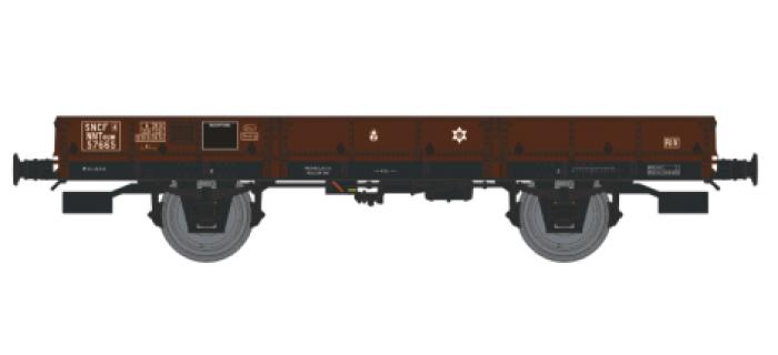 REE WB 130 - Wagon plat OCEM 29