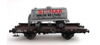 REE WB149 - Wagon UFR Mono-Porteur, Citerne Ronde