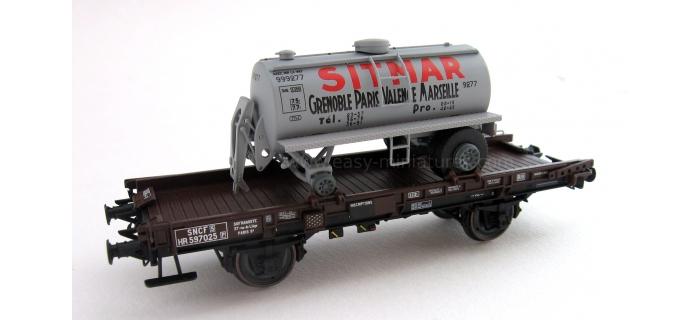 REE MODELE WB-149 Wagon UFR Mono-Porteur, Citerne Ronde