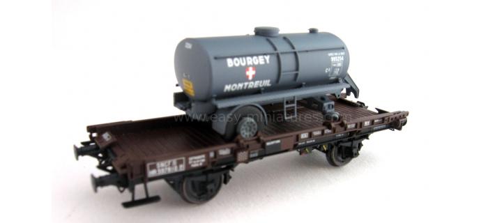 REE WB 151 - Wagon UFR Mono-Porteur
