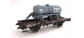 REE MODELE WB-151 Wagon UFR Mono-Porteur, Citerne