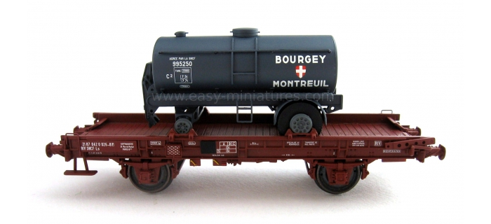 REE WB152 - Wagon UFR Mono-Porteur, Citerne