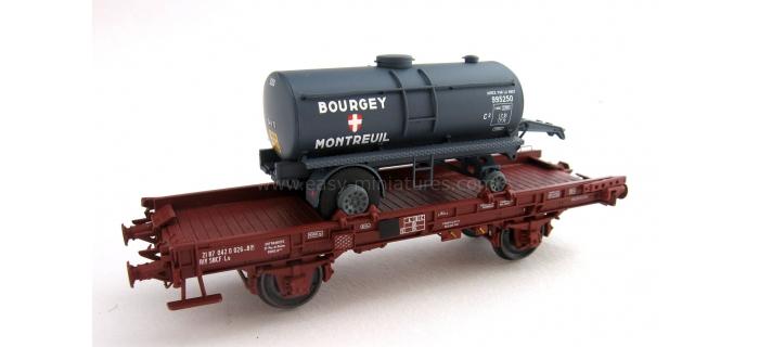 REE MODELE WB-152 Wagon UFR Mono-Porteur, Citerne