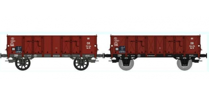 REE WB-270 Set de 2 Wagons TOMBEREAU Om