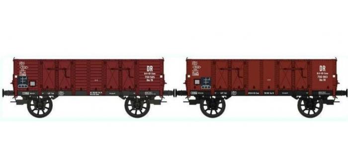 Train électrique : REE WB-273 Set de 2 Wagons TOMBEREAU Om