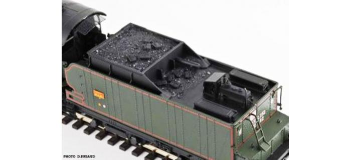 REE Modeles MB - 015S - Locomotive à vapeur 231 ex-PLM Epoque III, DCC Sonorisée - Fumée Pulsée