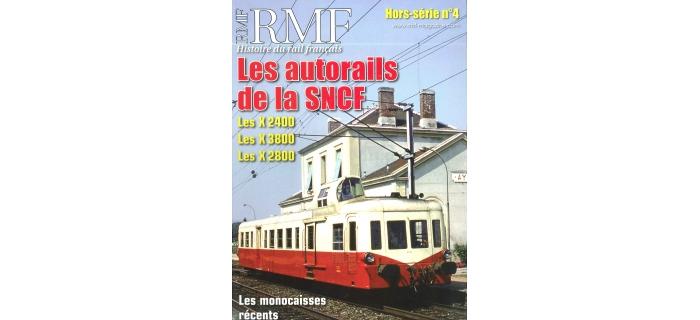 HSRMF4 Les autorails de la SNCF