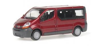 RIETZE 21370 Renault Trafic Combi, couleur bordeau