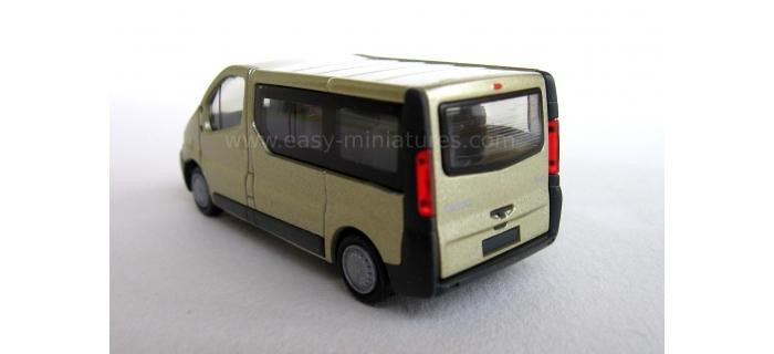 VEHICULE MINIATURE RIETZE 21370 - Renault Trafic Combi, couleur mettalic beige
