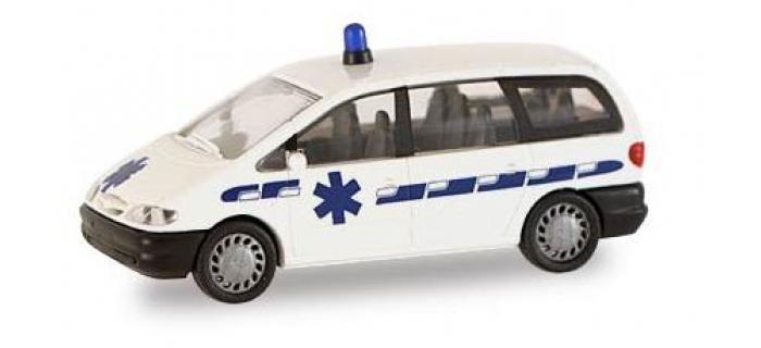 Ambulance Ford Galaxy rietze 50748 modelisme ferroviaire