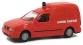 modelisme ferroviaire rietze 50851 Véhicule Sapeur Pompiers, VW Caddy Kasten