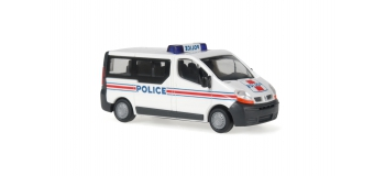 rietze 51376 renault traffic police modelisme ferroviaire et diorama