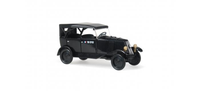 rietze 83065 renault NN Gendarmerie modelisme ferroviaire et diorama