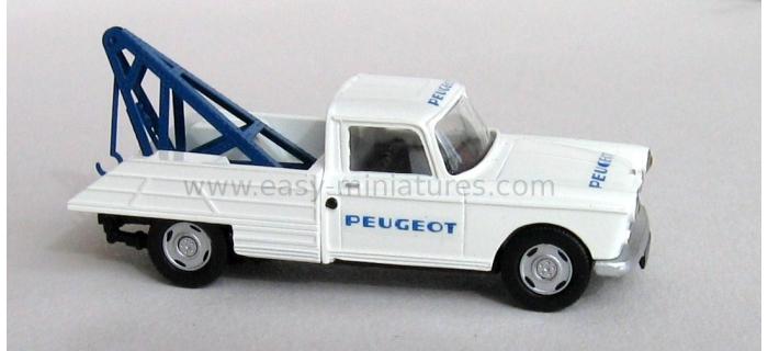 SAI 7157 - Peugeot 404 dépanneuse à plateau