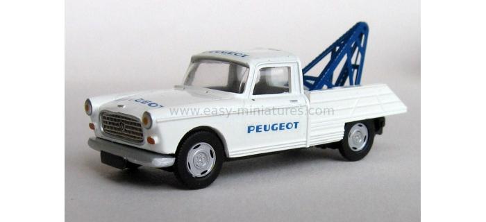 retro SAI 7157 - Peugeot 404 dépanneuse à plateau