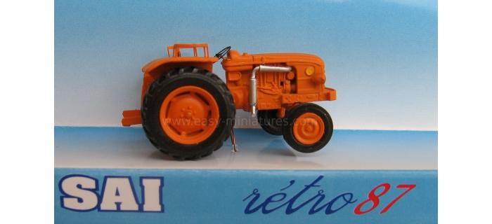 retro SAI 951 - Tracteur agricole Renault D22 (1956), orange