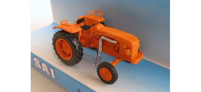 retro SAI 0951 - Tracteur agricole Renault D22 (1956), orange