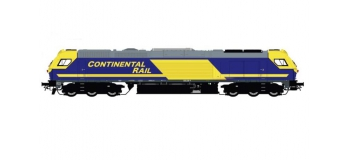 SUC33501813AC - Locomotive diesel Euro4000 Continental Rail n° 335.018 AC Digital
