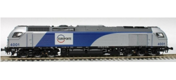SUDEXPRESS SUE400112ACS- Locomotive diesel Euro4000 Beacon Rail - Europorte n° 4001  (F-D-B)  AC digital son