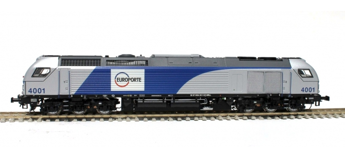 SUDEXPRESS SUE400612DCD - Locomotive diesel Euro4000 Europorte - Alesia n° 4006 (F-D-B) DC digital
