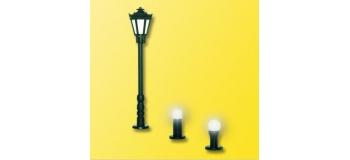 Train électrique : VIESSMANN SAI 0768 / V 6160 Ensemble d'éclairage de jardin