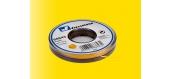 Cable pour modélisme ferroviaire : VIESSMANN VIE68643 - Fil électrique jaune
