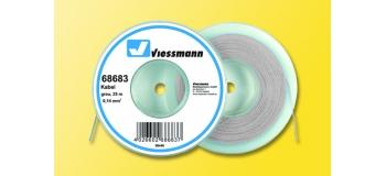 Train électrique : VIESSMANN VIE68683 - Fil électrique gris