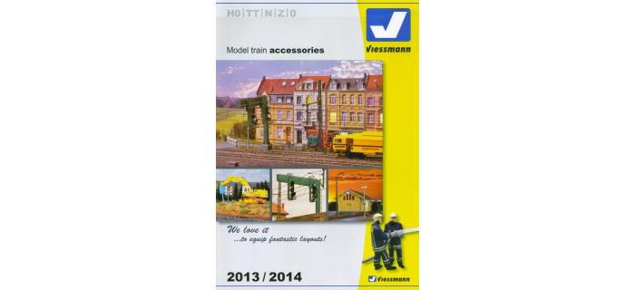 V 89991 - Catalogue Viessmann 2013 - 2014 (anglais)