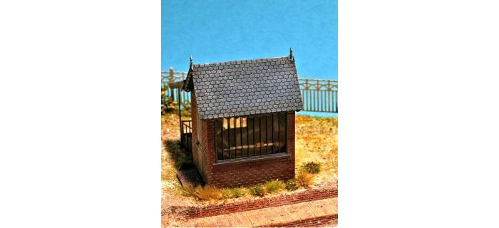 ABE227 - Cabane de pesée ( avec système de balance complet ) - ABE