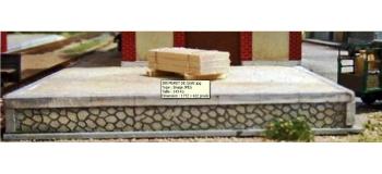 ABE385 - Muret en pierre pour quai - ABE