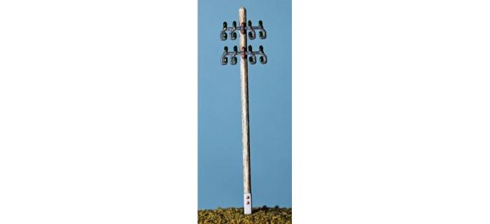 ABE401 - Poteau télégraphique ( simple ) 2 p./ kit - ABE