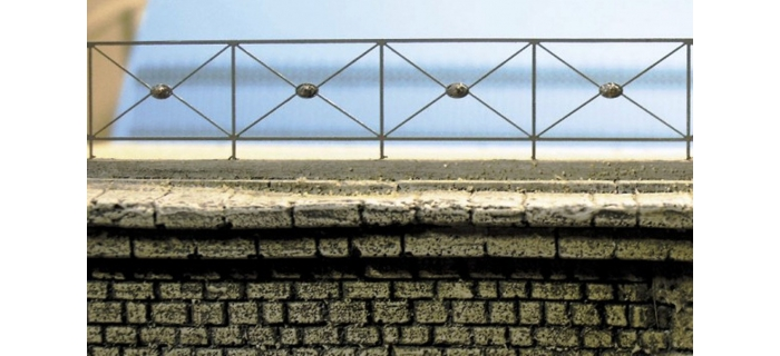 ABE0 196 - Grille de pont (longueur 1,5m) - ABE