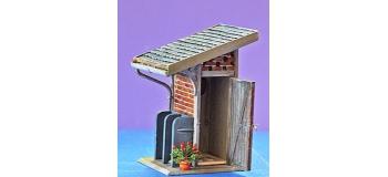 ABE0 322 - WC de jardin ou petite gare - ABE