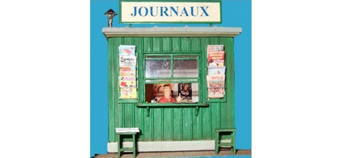 ABE0 363 - Kiosque à journaux
