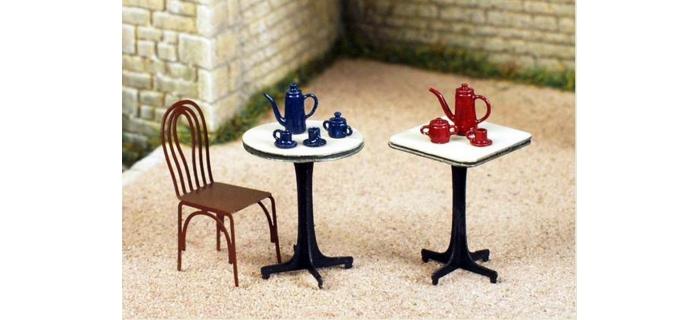 Maquettes : ABE08 - Chaises (4 pièces)