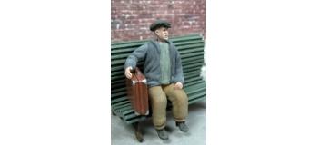 Train électrique : ABE0F23 - Figurine à peindre