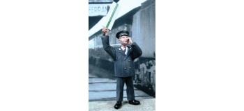 Train électrique : ABE0F25 - Figurine à peindre