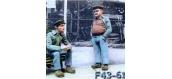 Train électrique : ABE0F61 - Figurine à peindre