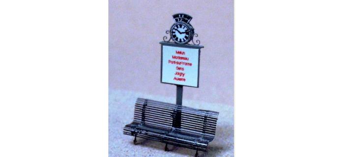 Maquettes : ABE22 - Indicateur d'horaires de quai