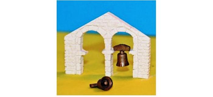 Modélisme ferroviaire : ABE296 - Cloche d'église