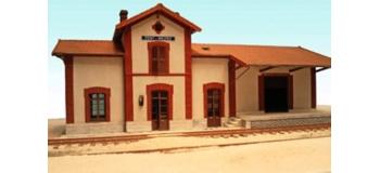 Modélisme ferroviaire :  ABE298 - Gare PONT-MELVEZ