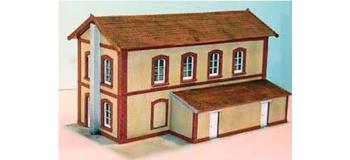 Modélisme ferroviaire : ABE342 - Bâtiment de dépôt