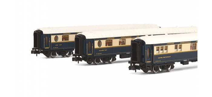 modelisme ferroviaire HN4106 - Coffret 3 voitures CIWL