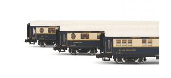 HN4106 train electrique - Coffret 3 voitures CIWL