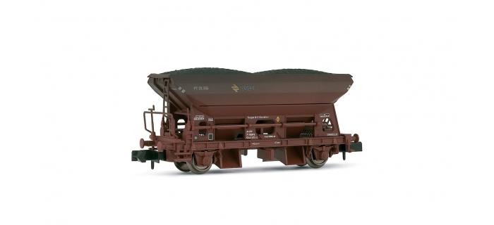 HN6139 - Wagon trémie RENFE à 2 essieux, livrée rouge UIC - Arnold