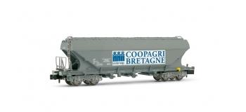 HN6192 - Wagon céréalier SNCF à faces planes COOPAGRI - Arnold