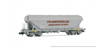 HN6211 - Wagon céréalier «Transcéréales Cie du Midi»  à parois planes, SNCF - Arnold