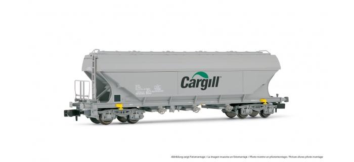 HN6212 - Wagon céréalier «Cargill»  à parois planes, SNCF - Arnold
