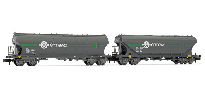 HN6465 - Pack de 2 wagons trémie Ermewa - Arnold